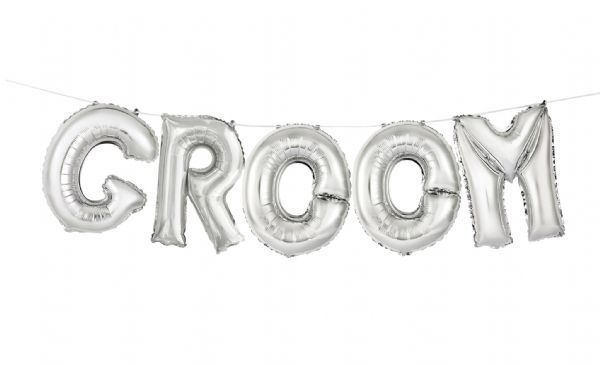 Groom Balloon Banner Kit
